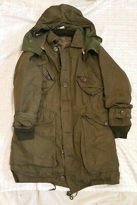Canadian Army Parka Surplus Jacket Extreme Cold Men's Large (L) Tall Mod