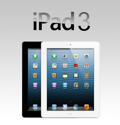 Apple iPad 3RD Generation,16,32 or 64GB Fully functional A,B or C Grade