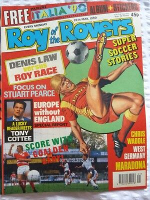 Roy of the Rovers Comic 26 05 1990 Exc