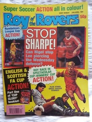 Roy of the Rovers Comic 27 04 1991 Exc Condition