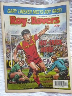 Roy of the Rovers Comic 31 03 1990 Exc