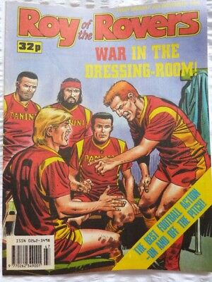 Roy of the Rovers Comic 25 11 1989