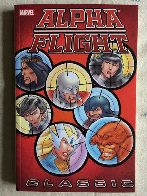 ALPHA FLIGHT Classic volumes 2 & 3 John Byrne TPB OOP