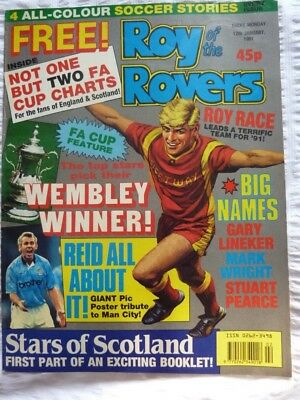 Roy of the Rovers Comic 12 01 1991 Exc Condition