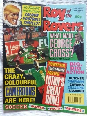 Roy of the Rovers Comic 09 02 1991 Exc Condition