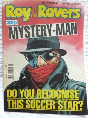 Roy of the Rovers Comic 10 02 1990 Exc