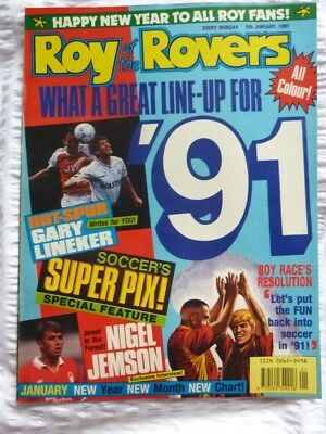Roy of the Rovers Comic 05 01 1991 Exc Condition