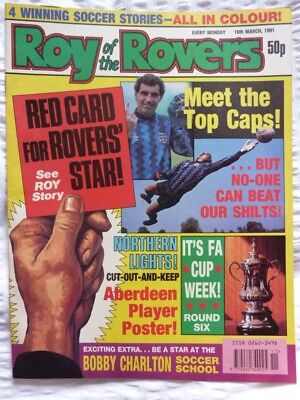 Roy of the Rovers Comic 16 03 1991 Exc Condition