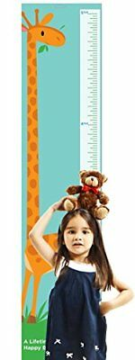 Giraffe Growth Chart by Americord - Hanging height measurement chart for baby, |