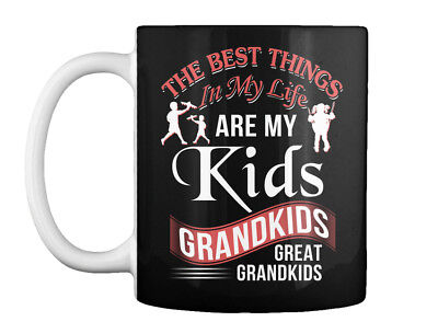 Grandparents- The Best Thing Are My Kids - Things In Life Gift Coffee Mug