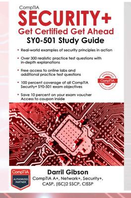 Comptia Security+Get Certified Get Ahead: SY0-501 Study Guide - DIGITAL EDITION