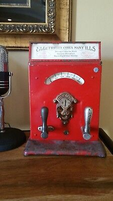 Antique Coin-op Mills Electric Shock Trade Stimulator
