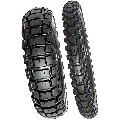 Motoz NEW 150/70-18 Rear 90/90-21 Front Tractionator Adventure Tyre Set