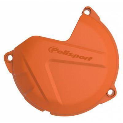 NEW Polisport Mx KTM/Husqvarna 450-501 Orange Motocross Clutch Cover Protector