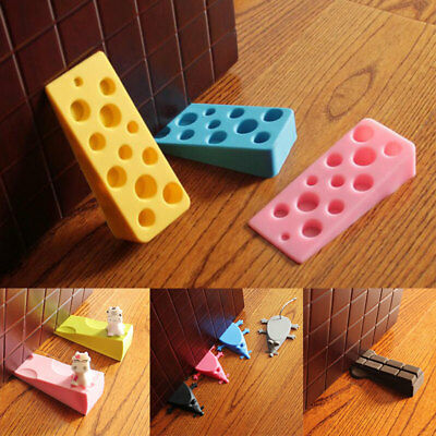 Cute Cartoon Shaped Silicone Door Stop Stopper Catch Jammer Blocker Home Décor