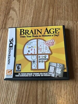 Brain Age Nintendo DS NDS Cib Game VC2