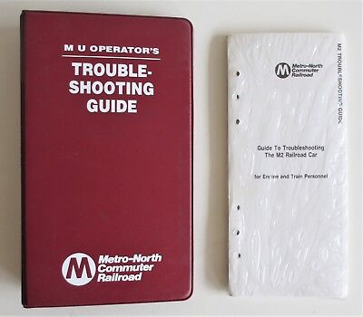 Vintage Metro North M2 Equipment Troubleshooting Guide with Binder