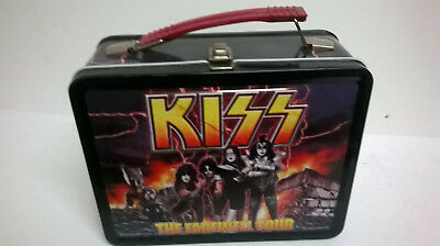 kiss metal lunchbox  farewell tour unused  2000 kiss catalog