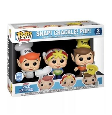 Funko Pop Ad Icons: Rice Krispy Ad icons 3 pack Snap Crackle Pop