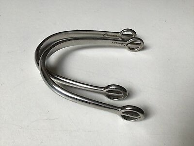 "Eldonian 'Dummy' Spurs Yoke - Yoke 3.25"" Adjustable Like BN Stainless Steel"