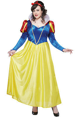 Brand New Snow White Plus Size Halloween Adult Halloween Costume