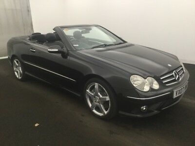 2007 Mercedes-Benz Clk 280 3.0 Sport Convertible Sat Nav Leather,climate,lovely