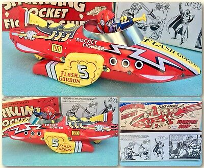Flash Gordon Rocket Fighter Ship Comic Zertifikat Limited Edition Selten Rare