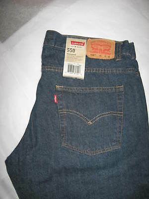 Nwt Levi's 550 Boys Relaxed Fit  Jeans ~ Sz.14 Husky