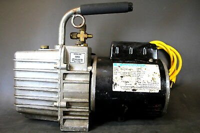 JB Industries DV-200N 7 CFM 2 Stage Platinum Vacuum Pump Made in USA