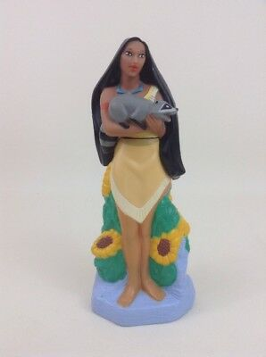 "Pocahontas Disney Princess Figure/ Kid Care 9.5"" Bubble Bath Bottle Vintage 90s"