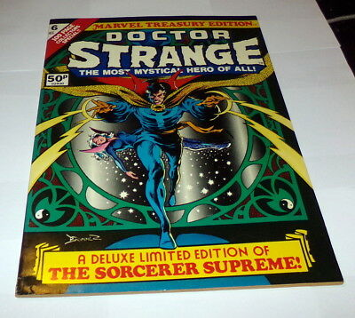 Marvel Treasury Edition 6 - Doctor Strange NEAR MINT HIGH GRADE UK Price