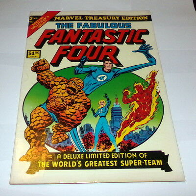 1974 Marvel Treasury Edition Fabulous Fantastic Four Oversized Comic Book MINT