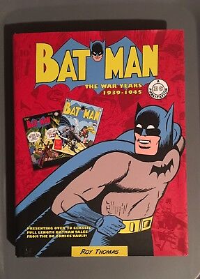 Batman The War Years 1939-1945 Hardcover Roy Thomas 20 Full Length Stories DC
