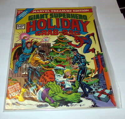 Marvel Treasury Edition 1975 Holiday Grab-Bag NEAR MINT HIGH GRADE UK Price