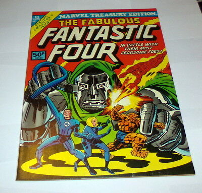 Marvel Treasury Edition #11 Mint Fabulous Fantastic Four 1976 Uk Copy