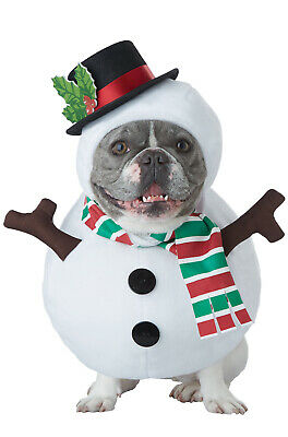 Brand New Winter Snowman Frosty Inspired Christmas Pet Dog Costume