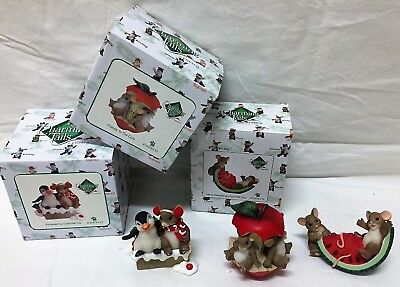 ENESCO Charming Tails 3 Friendship Theme With Boxes
