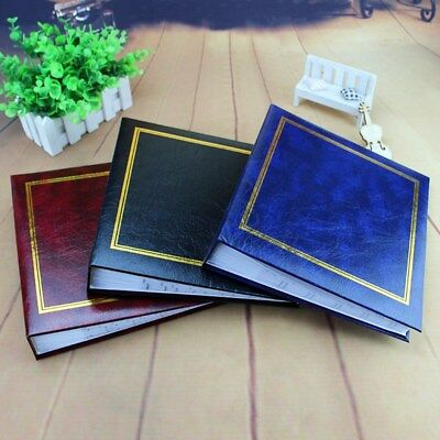 6'' 200 Pages Photo Album Memo Book DIY Scrapbook Valentines Day Wedding Gifts
