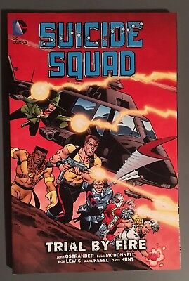 Suicide Squad Trial By Fire Softcover DC Comics Ostrander
