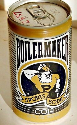 Boilermaker Cola; Sports Beverage Company; Champaign, IL; Soda Pop Can