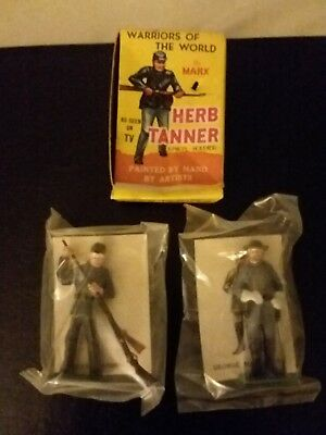 Lot of 2 Marx Warriors of the World Confederate Soldiers Still in Plastic