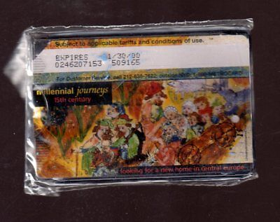 NYC MTA METRO CARD HOLDER: Contains 0.00 value, expired metrocard,11/30/ 2000
