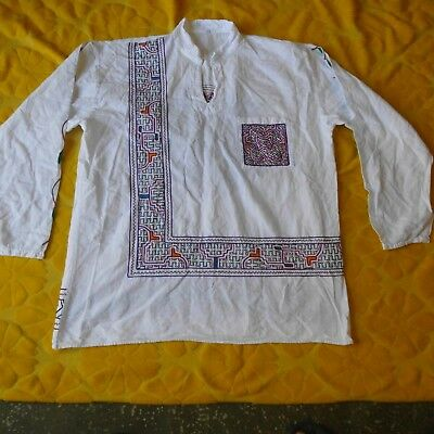 Ayahuasca Visions Sacred Shipibo Medium  long sleeve Shirt