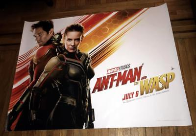 ANT-MAN AND THE WASP 5FT SUBWAY MOVIE POSTER Evangeline Lilly Paul Rudd MARVEL