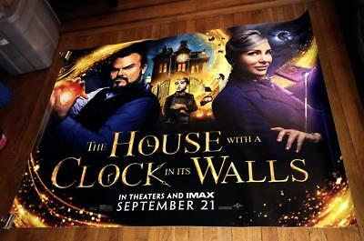 The House with a Clock in Its Walls 5FT SUBWAY MOVIE POSTER 2018 Cate Blanchett