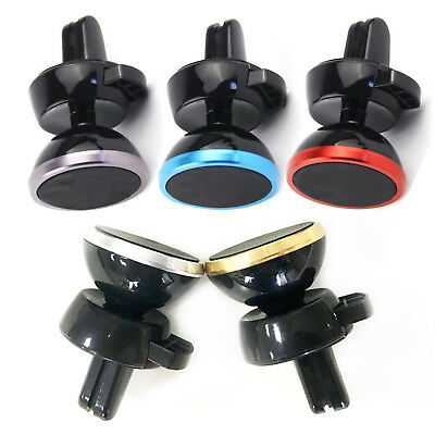 Universal Magnetic In Car Mount Air Vent Holder Stand For Cell Moblie Phone GPS