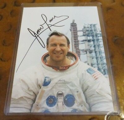 Jim Lovell signed autographed photo NASA astronaut Apollo 13