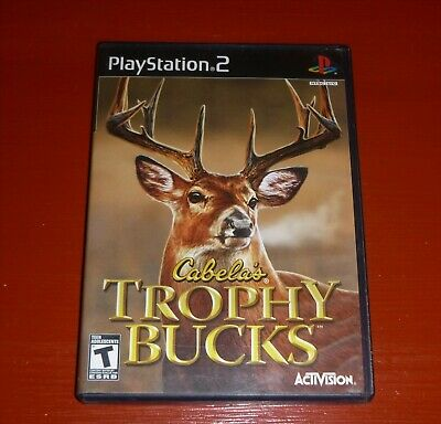 Cabela's Trophy Bucks (Sony PlayStation 2, 2007 PS2) -Complete