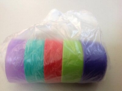 *Lot of 5* NEW Tupperware Multi Colors SMIDGETS *RARE* Primary Purple,Teal,Red