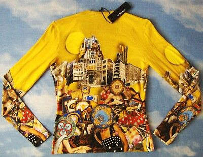 T-SHIRT  woman vintage GIANNI VERSACE TG.40-XS-S  made Italy NEW!  Rare